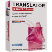 @PROMT OFFICE 8.0 TRANSLATOR ENGLISH MULTILINGUAL - More Info