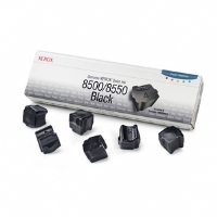 Xerox Solid Black Ink Cartridge for Xerox Phaser 8500/8550 Printer (Six Sticks)