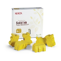 Xerox 108R00748 Solid Ink Yellow  For Phaser 8860/8860MFP (6 Sticks)