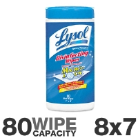 Lysol 77925 Sanitizing Wet Wipes - More Info