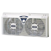 Lasko 2138 Electric Reversible Twin Window Fan