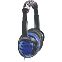 WICKED REVERB HEADPHONES BLUE - More Info