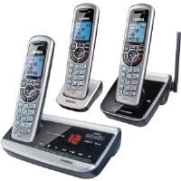 Uniden  DECT 6.0 MultiRange Cordless Telephone With Digital Answering System (Refurbished) for sale Now
