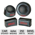 Boss TW-15 Neodymium Tweeter, Surface, Flush, Swivel Mount (Pair) for sale Now