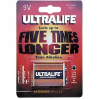 ULTRALIFE 9V LITHIUM - More Info