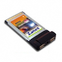 Zonet 2 Port USB 2.0 PCMCIA Cardbus with Cable - More Info