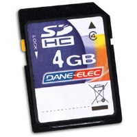 Dane-Elec 4GB SDHC Card - More Info