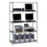 Nexel 4 Shelf Starter Unit 36inW/18inD/74inH - More Info