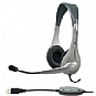Cyber Acoustics AC-850 USB Stereo Headset with Boom Mic