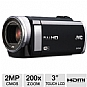 JVC GZ-E210BUS Digital Camcorder - $249.96
