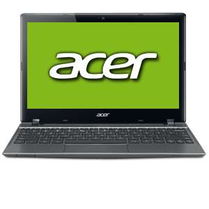 "Acer C710-2055 Chromebook - Intel Celeron 847 1.1GHz, 4GB DDR3, 320GB HDD, 11.6"" Display, Google Chrome OS, 6-Cell (NU.SH7AA.008)"