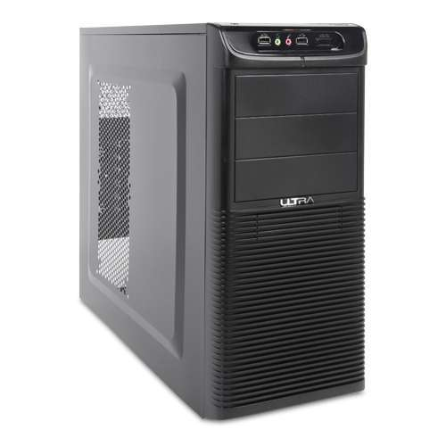 Ultra XBlaster Mid-Tower V2 Case - ATX, MicroATX, USB 2.0, Audio, 6x 3.5&quot; Bays, 4x 5.25&quot; Bays, 7x PCI Slots, Lifetime Warranty with Registration