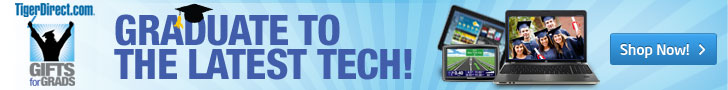 Graduate to the Latest Tech at TigerDirect.com
