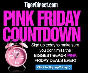 TigerDirect Black Friday Countdown