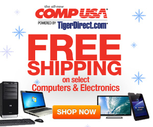 CompUSA FREE Shipping