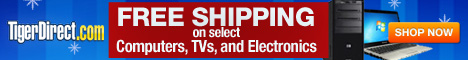 FREE SHIPPING at TigerDirect