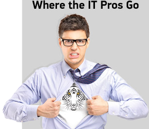Where the IT Pros Go