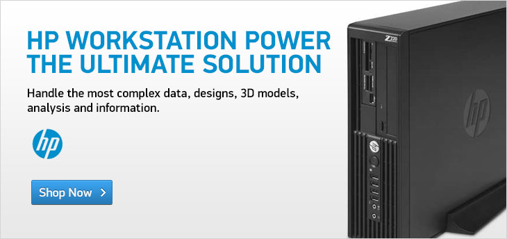 HP Workstation Power. The Ultimate Solution