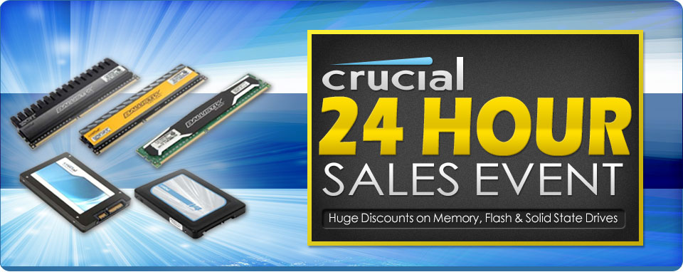 24 hour crucial sales event