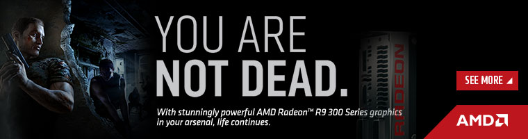 Stunningly powerful AMD Radeon™ R9 300 Series graphics