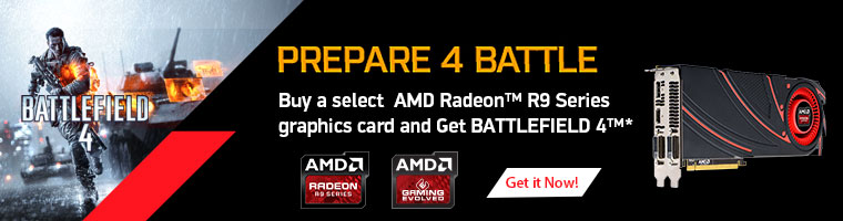 AMD Radeon R9 Graphics. Built to Play.