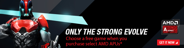 AMD A Series APUs - Get a free game!
