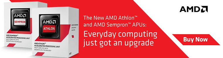 AMD Athlon and AMD Sempron APUs