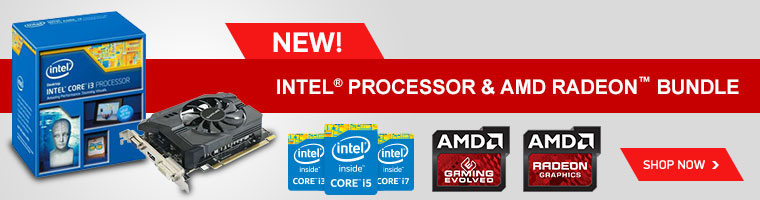 Intel Processors & AMD Radeon Bundle