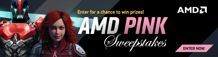 AMD Pink Swepstakes