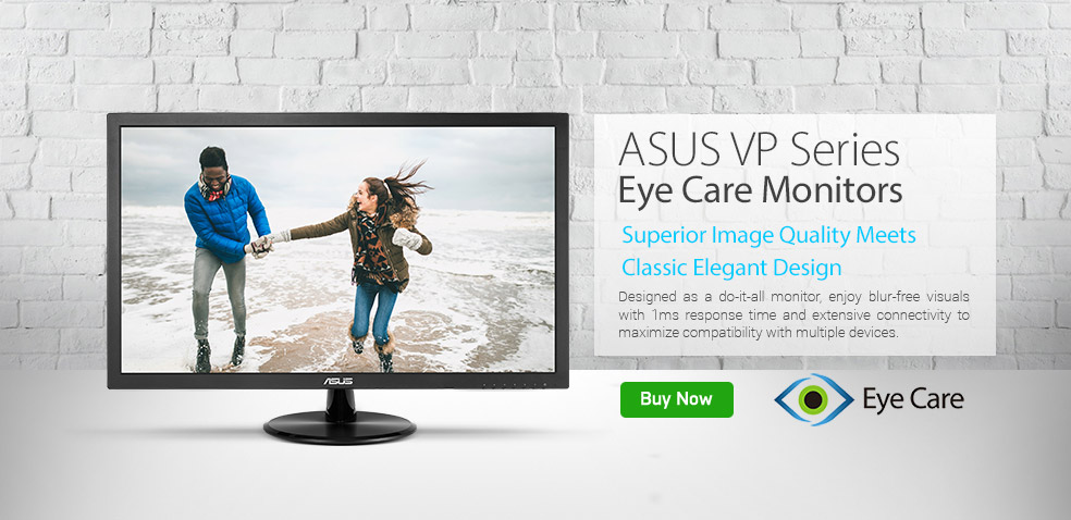 ASUS VP Series Eye Care Monitors