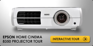EPSON Powerlite Home Cinema 8350 Projector Interactive Tour