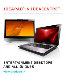 IdeaPad &amp; IdeaCentre