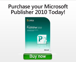 Purchase your MS Publisher Today