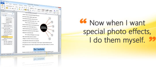 Microsoft Office Word 2010 - sample screen