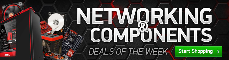 Components and Networking weekly deals