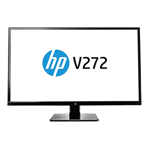 "HP V272 27"" 1080p<br>LED IPS Monitor"