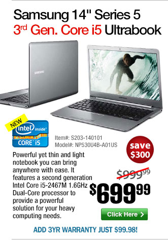 Core i5 Ultrabook