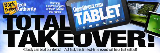 Tablet Takeover from $59