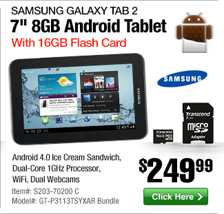 Samsung Galaxy Tablet Bundle