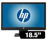 HP 18.5&rdquo;  Widescreen LED Monitor 