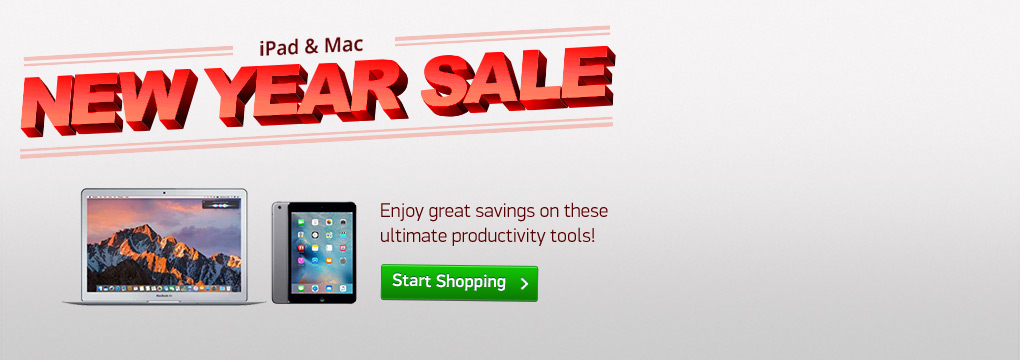 This Week Only! Price Drops on iPad and MacBook