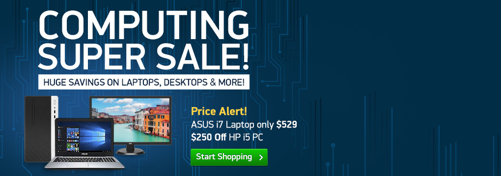 Price Alert! ASUS i7 Laptop only $529 | $250 Off HP i5 PC