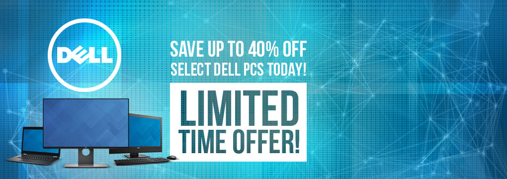 DELL - Save up to 40% off select DELL PCs today!