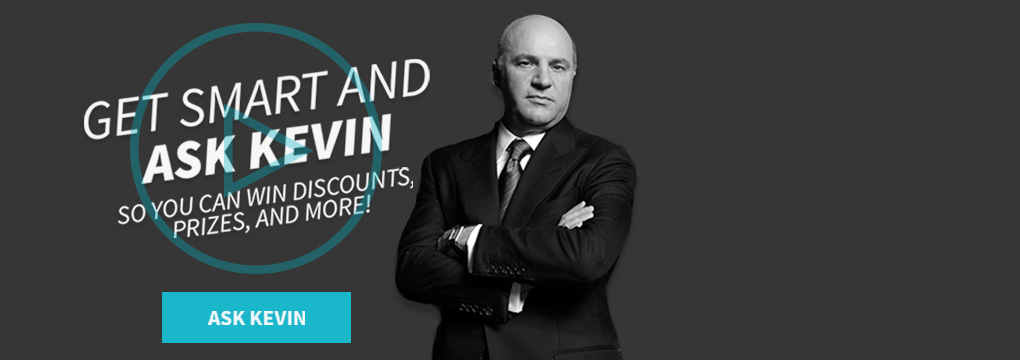 TigerDirect Business wants you to ask Shark Tank's Keving O'Leary to win!