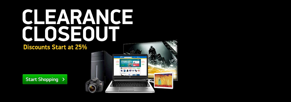 Clearance Closeout: We've taken an extra 25% off on all our clearance prices!