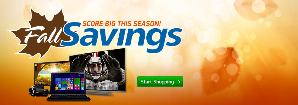 Fall Savings - Score Big This Season!