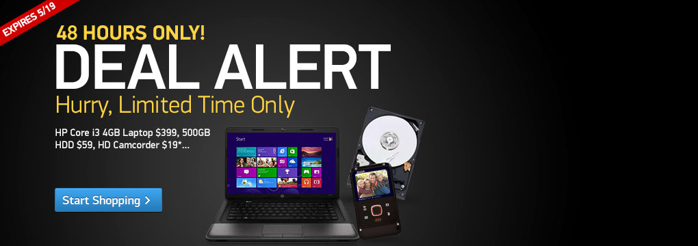 Deal Alert! Deals Expire 5/5/2013 at 11:59pm ET.