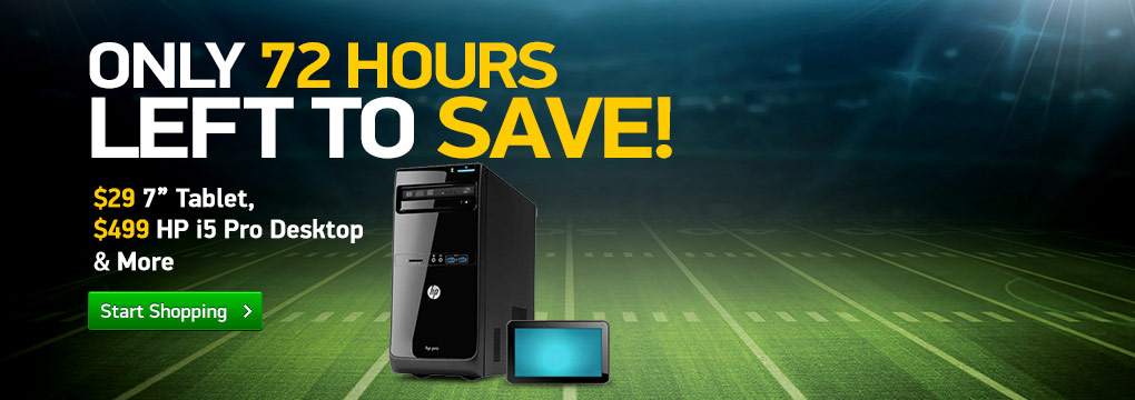 "72 Hours Left To Save: $29 7"" Tablet 