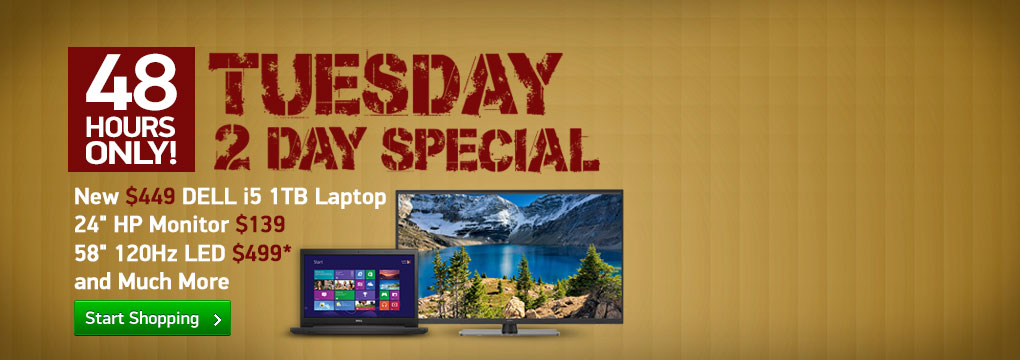 May Black FrTuesday 2 Day Deals - Dell i5 Laptop Special - While They Last!