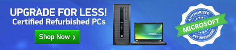 Certified Refurbished PCs